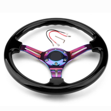 14inch 350mm ABS Car Racing Steering Wheel